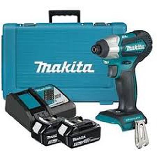 Máy siết bu lông dùng pin Makita DTW180RFE 18V