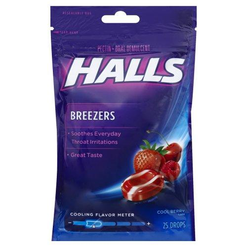 Kẹo ngậm Halls – Cool Berry Flavor