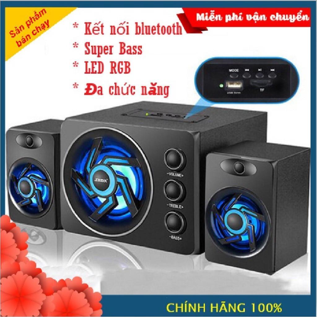 Giá (Video) Loa Máy Tính Gaming Cực Chất D-209 ( Kết Nối Bluetooth, USB, Thẻ Nhớ) Bảo Hành 12 Tháng, Gọn nhẹ hơn Loa Bluetooth mini, loa di động giá rẻ hỗ trợ thẻ nhớ, FM, USB KING CROWN SC211, Loa bluetooth
