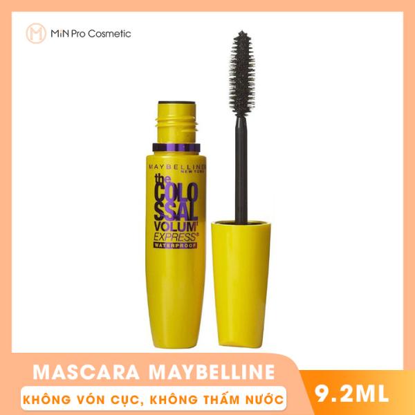 Mascara Maybelline Colossal Waterproof Black 9.2ml
