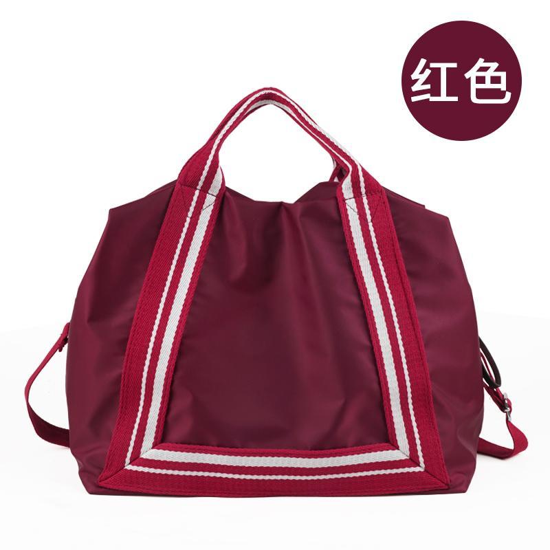 Online Celebrity Travel Bag Large Capacity Travel Bag Hand Womens Short Trip Small Luggage Light Nursing Bag Gym Bag Mens