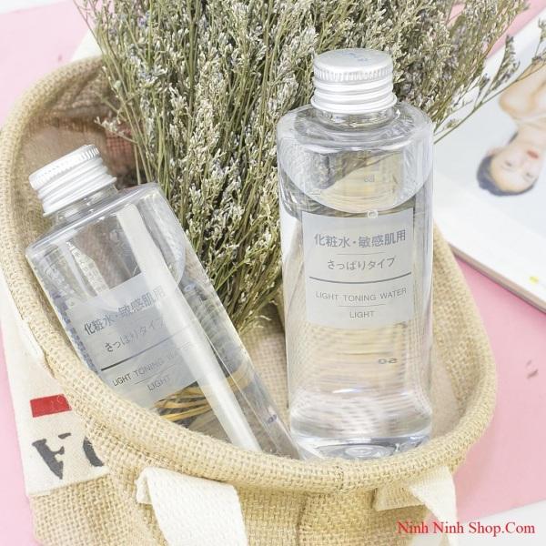 [ SIÊU SALE ] Nước hoa hồng Muji Light Toning Water 200ml, găn ngừa mụn tiềm ẩn an toàn cho da - ABCD SHOP cao cấp