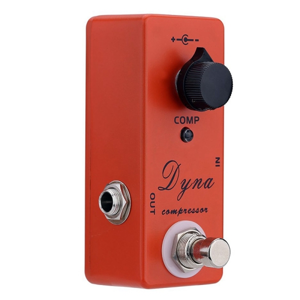 MOSKY Dyna Compressor Electric Guitar Effect Pedal Mini Single Effect with True Bypass Malaysia