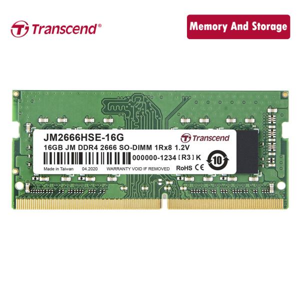 Bảng giá Ram Transcend DDR4 16GB 2666Mhz SO-DIMM chính hãng Phong Vũ