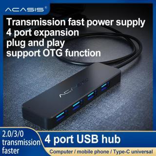 Giao diện nguồn cho máy tính để bàn xách tay ACASIS 4 cổng kết nối USB 3.0 và 2.0 tốc độ cao - INTL thumbnail