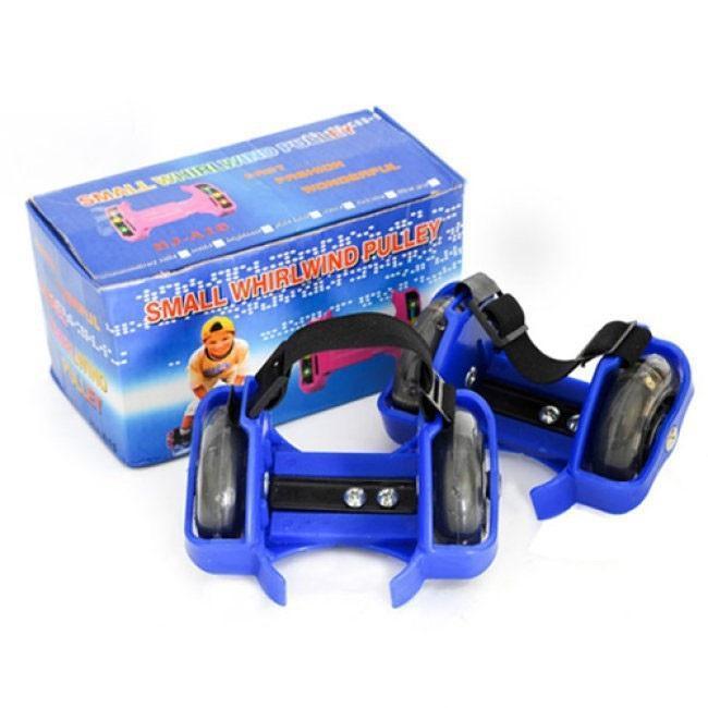 Giá bán Bánh xe gắn Giày trượt patin nhỏ gọn, dễ trượt, cá tính, năng động, CÓ ĐÈN LED