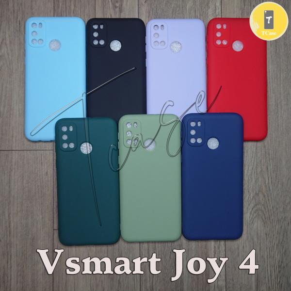 Ốp lưng Vsmart Joy 4 dẻo màu - Có gù bảo vệ camera