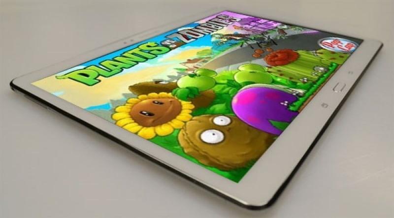 Samsung Galaxy Tab S 10.5 add sẵn 2 phần mềm bản quyền tienganh123 và luyenthi123, tặng thêm đế dựng chính hãng
