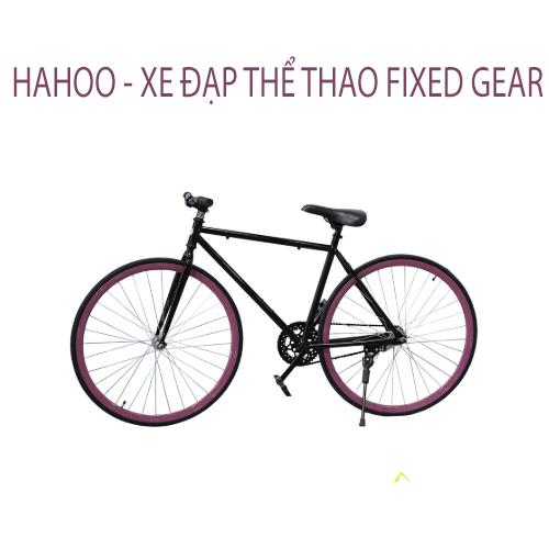 Mua HAHOO - Xe đạp thể thao FIXED GEAR - Đen