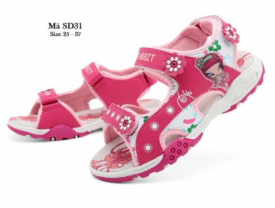 Giá bán Giày sandal bé gái đi học đi chơi mùa mưa hàng cao cấp