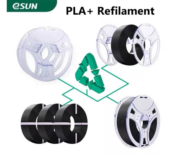 Bảng giá Nhựa in 3d ESUN Re-Filament PLA+ (không lõi) 1kg/Cuộn Phong Vũ
