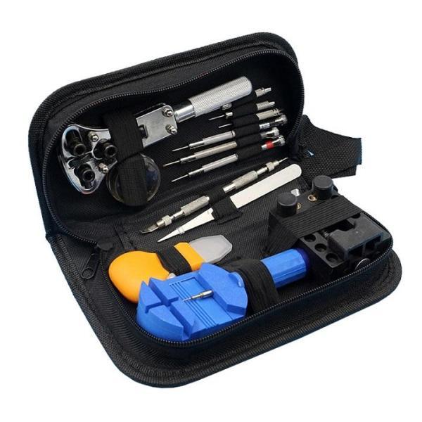 Nơi bán Bộ dụng cụ sửa chữa đồng hồ 13 món có kèm túi đựng - DMA store