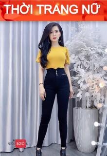 quần jean nữ cao cấp win 268 màu đen lưng cao AN NHIÊN STORE MẪU MỚI M520 siêu hót phong cách hàn quốc thời trang An Nhien fashion AN702 thumbnail