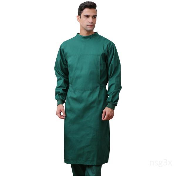 Áo choàng có thể tái sử dụng Áo choàng bằng vải bông tái sử dụng cho nam và nữ thoáng khí và thấm mồ hôiIvm9hRbg