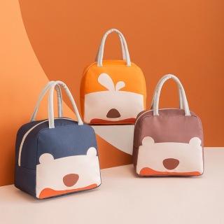 Túi đựng hộp cơm giữ nhiệt có khoá kéo hình gấu dễ thương Phân Phối bởi Micocah Việt Nam thumbnail