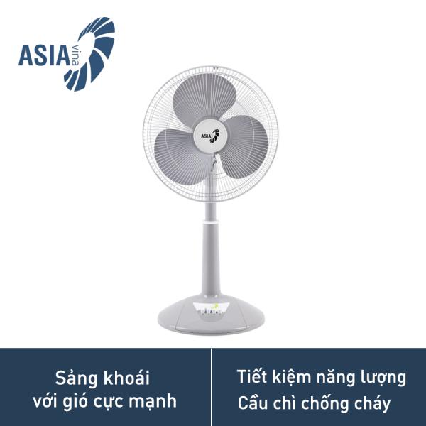 Quạt lửng Asia/2 màu - A16018, Thiết kế độc đáo, phù hợp không gian nội thất, động cơ mạnh mẽ và bền bỉ, có cầu chì chống cháy an toàn, tiết kiệm năng lượng, công suất 45w, Bảo hành động cơ 3 năm toàn quốc