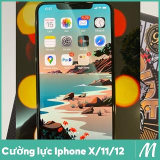 Combo 02 Kính cường lực Iphone 12, 12Pro, 12Promax, 11 Pro, 11 Pro max, X, Xs, XR, XsMax full màn Sư Tử (Miếng Dán màn hình Cường Lực Iphone 11Promax, XsMax, 11Pro, X, Xs, XR, 12, 12Pro, 12Promax) thumbnail