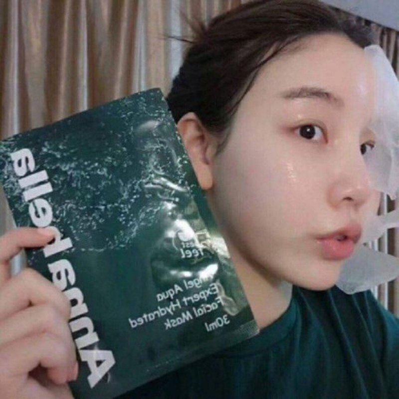 Mặt nạ tảo biển Annabella Thái Lan Facial Mask Hộp 10 miếng
