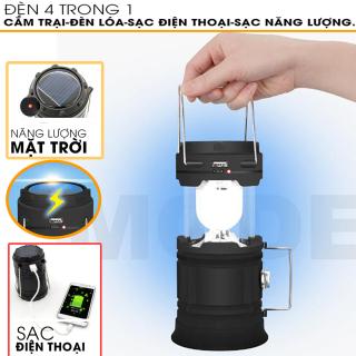 ( HÀNG CAO CẤP) Đèn Cắm Trại - Có Cổng Sạc USB, Tích Điện Lâu, Thiết Kế Gọn Nhẹ Tiện Sử Dụng - (BẢO HÀNH 6 THÁNG) thumbnail