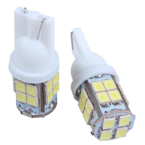 2 x T10 194 W5W 1210 SMD 20 LED Dashboard Bulb License Plate Light White