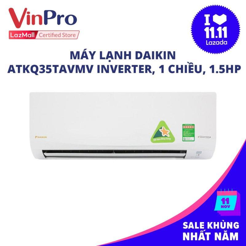 Bảng giá Máy lạnh Daikin ATKQ35TAVMV Inverter, 1 chiều, 1.5HP