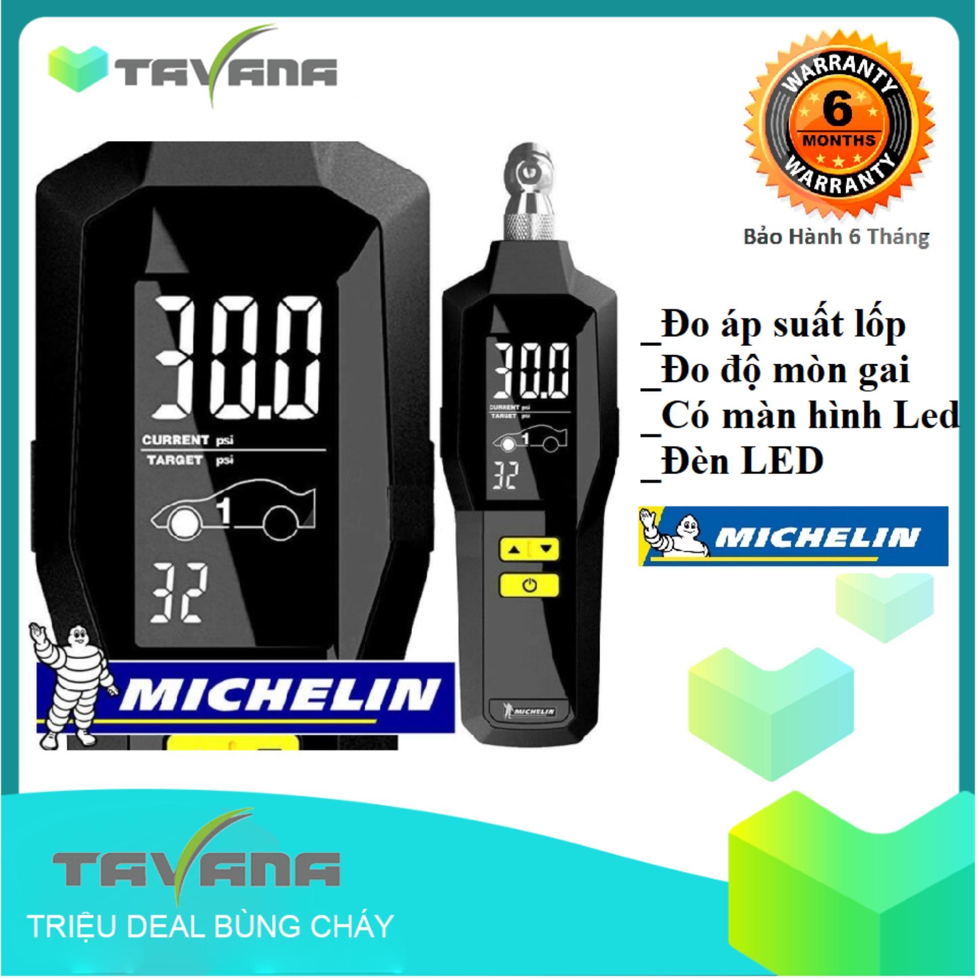 Máy đo áp xuất lốp kỹ thuật số Michelin 12295