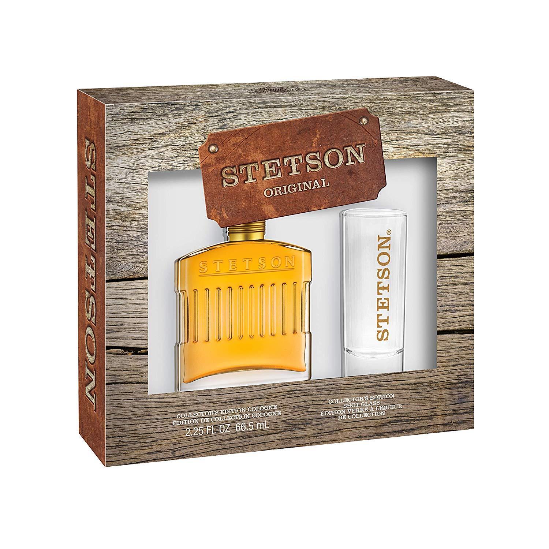 Bộ nước hoa nam Stetson Original Leather Cologne & Gwp Shot Glass nhập khẩu