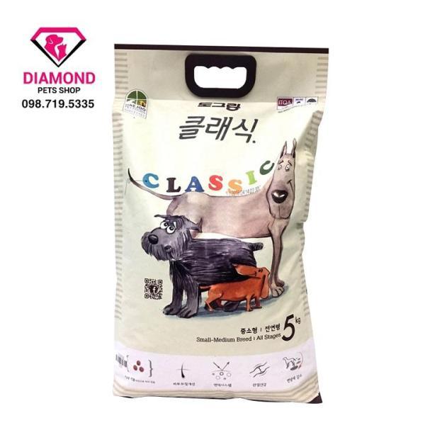 [5kg] Thức ăn hạt cho chó mọi lứa tuổi DOG CLASSIC