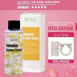 Nước thần hoa cúc 2in1 kết hợp nước hoa hồng và kem dưỡng Cocayhoala cấp ẩm tức thì, trẻ hóa làn da sau 10 ngày - Calendula Essence Extract 100ml- Hàng chính hãng