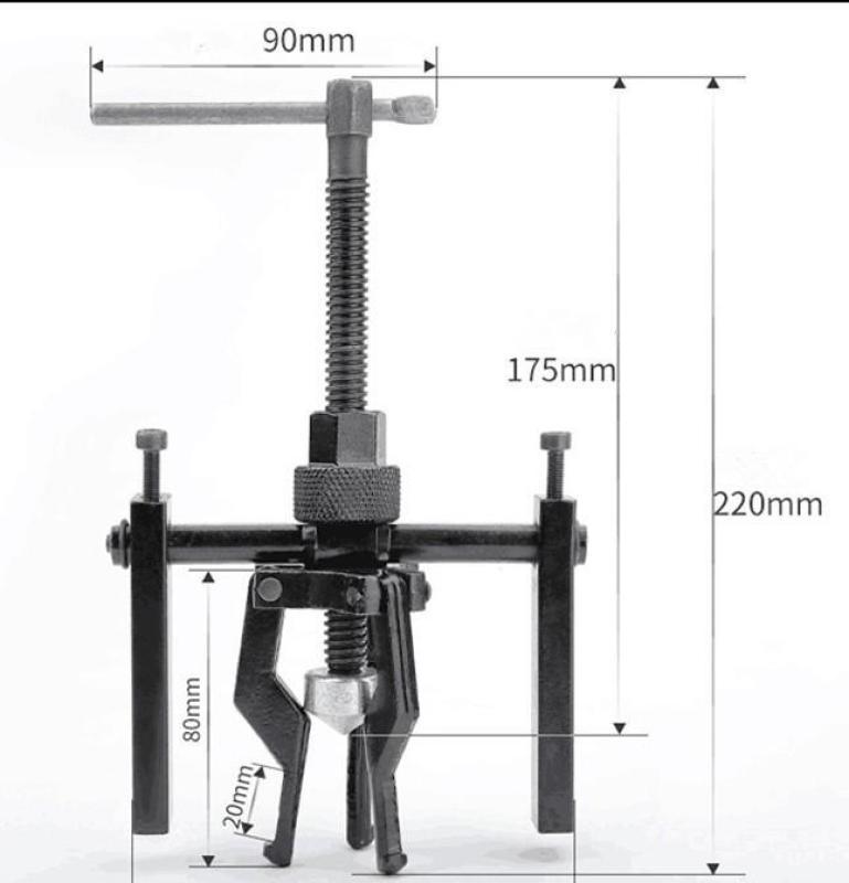 Cảo 3 chấu mở ốc,vòng bi 16-38mm