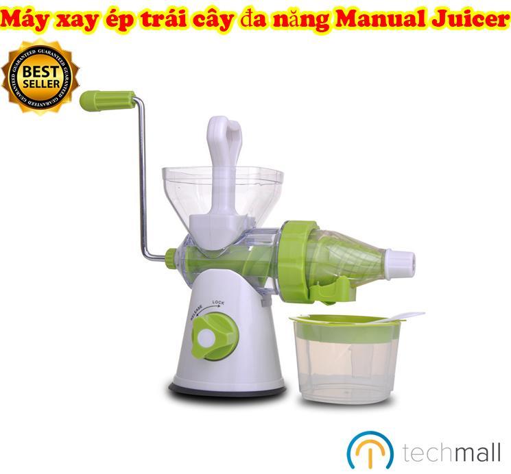 Máy xay ép trái cây đa năng Manual Juicer - Với thiết kế vô cùng cao cấp, xay ép chái cây hiệu quả.
