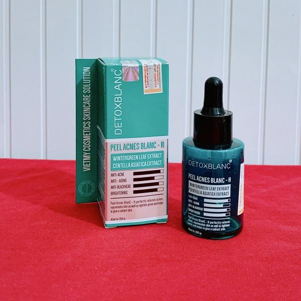 Serum Peel DetoxBlanc làm sạch mụn, dưỡng trắng da