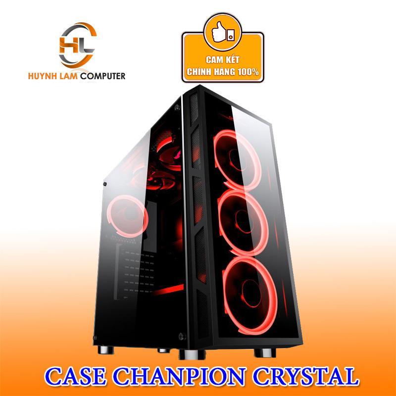 Thùng máy tính Case Chanpion Crystal thích hợp với mọi loại main - Hãng phân phối