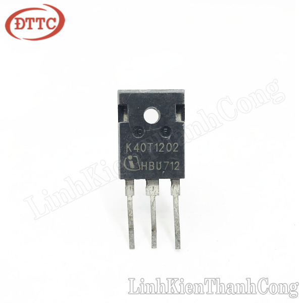 Bảng giá K40T120 IGBT 40A 1200V TO247 (tháo máy)