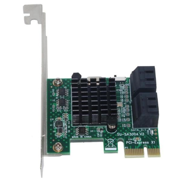 Giá 4 Port Sata 3.0 To Pcie Expansion Card Pci Express Pci E Sata Adapter Pci-E Sata 3 Converter for Hdd Ssd Ipfs Mining
