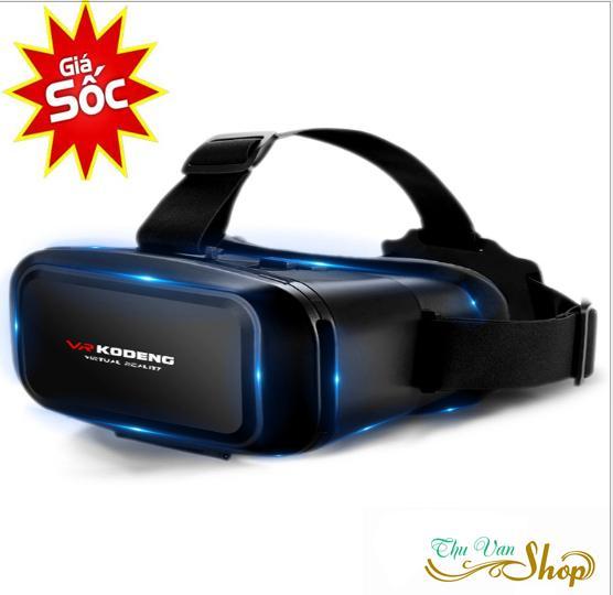 Kính thực tế ảo tốt, chơi game bằng kính thực tế ảo - Kính thực tế ảo VR KODENG K2 cao cấp, Xem phim 3D, Sản phẩm ưa thích của giới trẻ, GIÁ CỰC SỐC