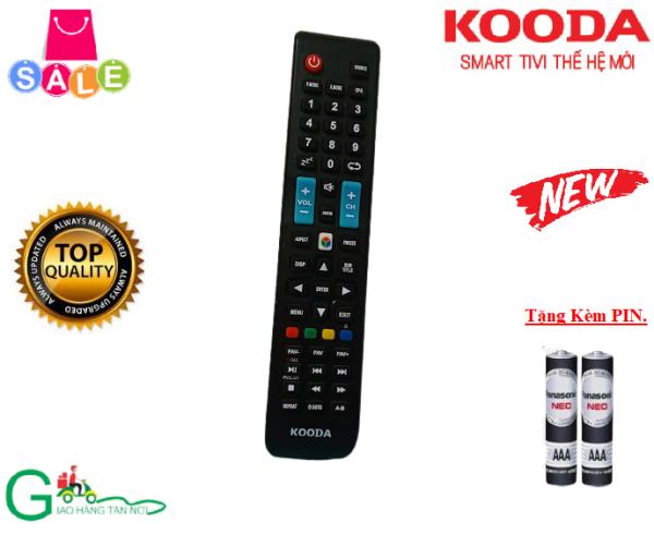 Bảng giá Remote điều khiển tivi KOODA-Hàng mới chính hãng-Tặng kèm PIN