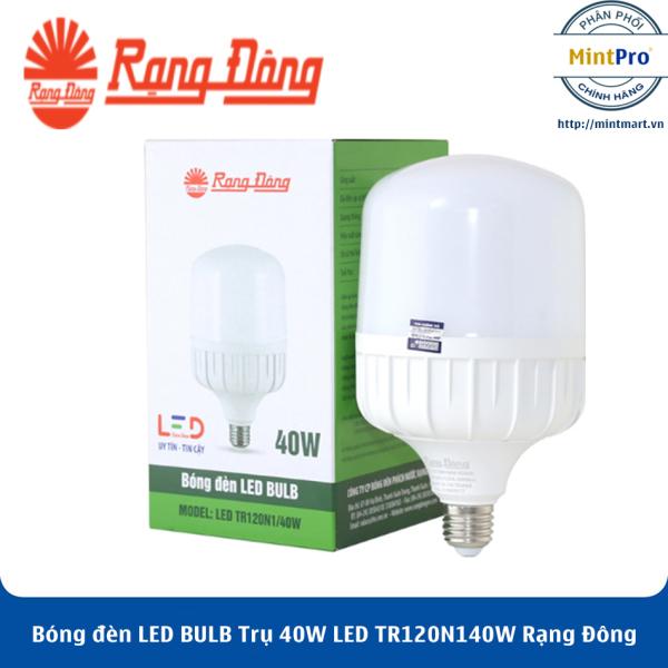 Bóng đèn LED BULB Trụ 40W LED TR120N1/40W Rạng Đông - Hàng Chính Hãng