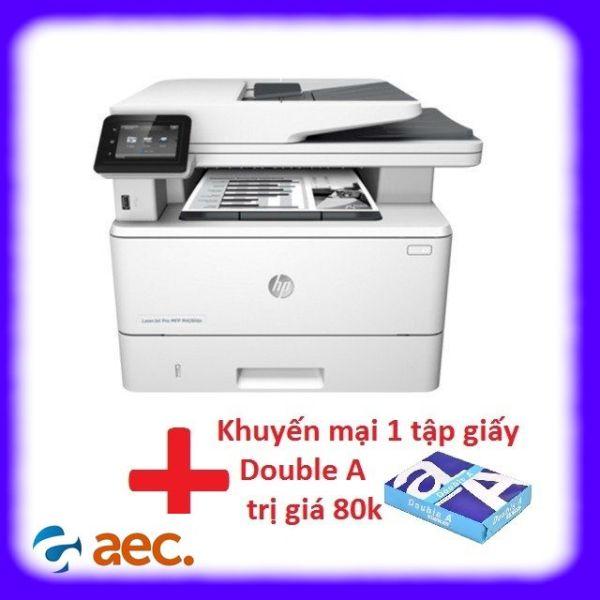 Máy in laser đen trắng HP đa chức năng LaserJet Pro M227fdw (In/ Copy/ Scan/ Fax/ Wifi) + Khuyến mại 1 tập giấy Double A