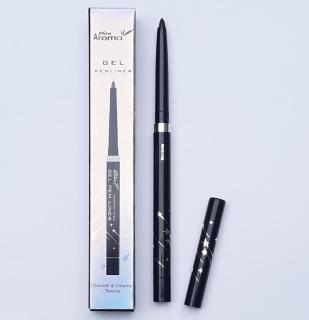[Eyeliner Black Đen] Gel kẻ mí mắt không Lem không trôi ( dạng chì vặn ) Aroma Gel Pen Liner Black Hàn Quốc thumbnail