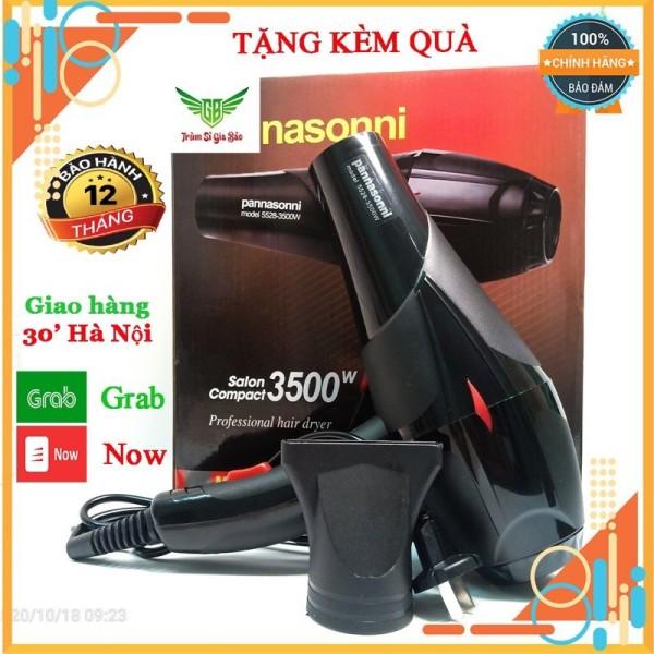 Máy Sấy Tóc Panasoni 3500W Máy Sấy Tóc Công Suất Lớn 2 Chiều Kèm phụ kiện giá rẻ