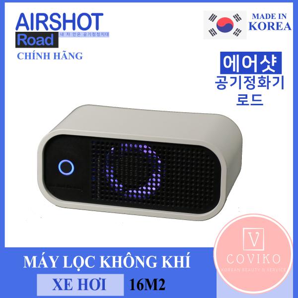 Máy lọc không khí ô tô Airshot Road, Máy lọc không khí xe hơi, Máy lọc không khí Hàn Quốc