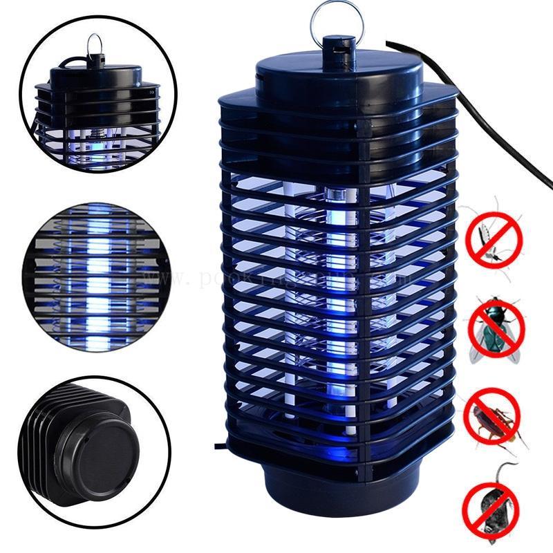 Đèn bắt muỗi và côn trùng hình tháp 3D GSG120