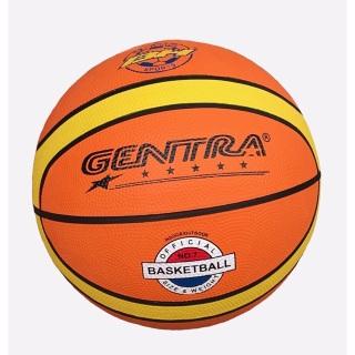 Quả bóng rổ số 5,6,7 Gentra chính hãng (Cam) + Tặng kim bơm bóng thumbnail