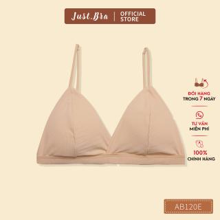 Áo ngực nữ Just Bra basic cài sau, chất liệu thun lạnh không gọng, mút vừa AB120E thumbnail