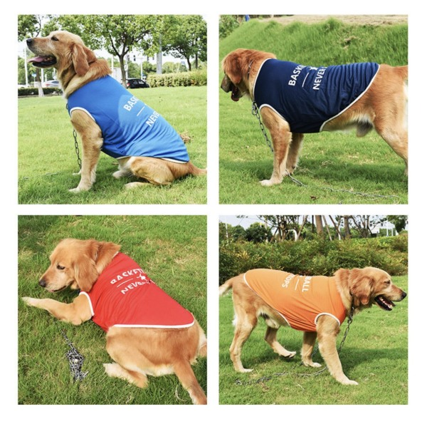 Áo vải thun thoáng mát SIZE TO - BIG SIZE cho chó lớn