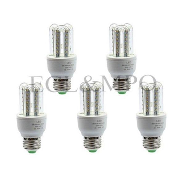 Bộ 5 bóng đèn LED chữ U 5W