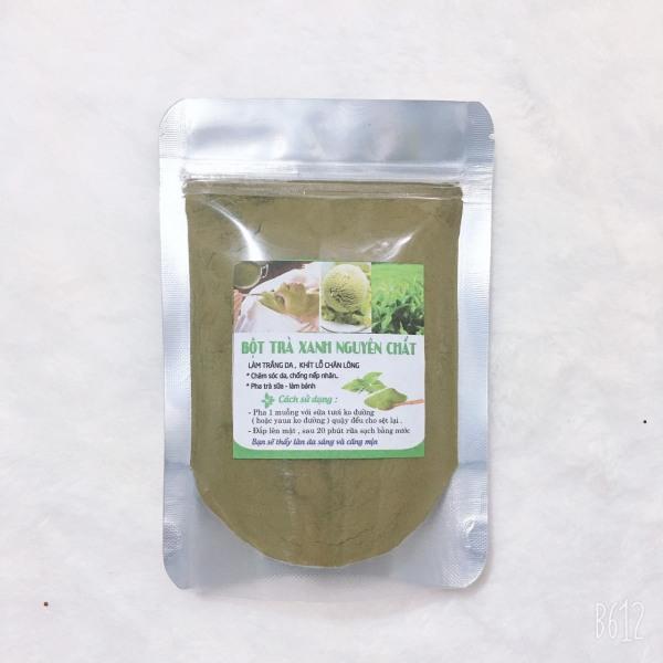 100g & 50g Bột trà xanh đắp mặt Giảm mụn mờ vết thâm nhập khẩu