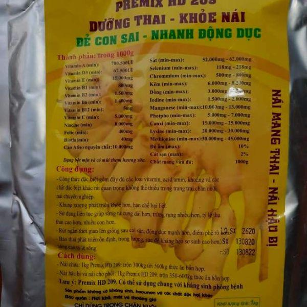 Dưỡng thai khoẻ nái 1kg/gói