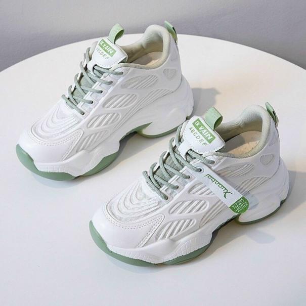 Giày the thao thoáng khí 2 màu xanh xám kèm hình thật giá rẻ
